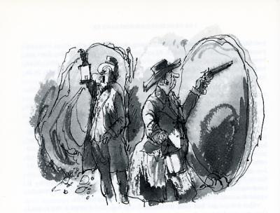 duel dans la mine