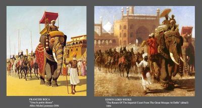 l'Inde et ses pastiches