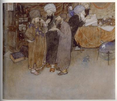 Les cinq voleurs de Bagdad