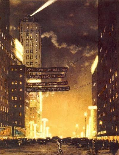 New-York brûle