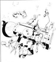 illustration pour la chronique littéraire SF de Mozesli