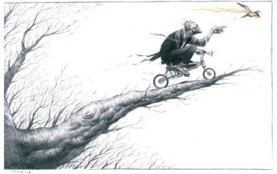 Jerome Opena fait du vélo