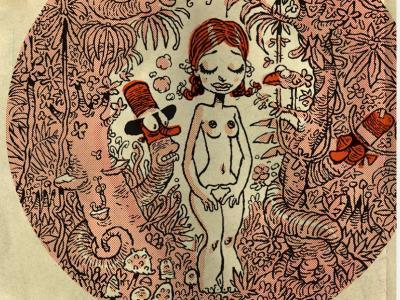 la Vierge dans la forêt du même nom