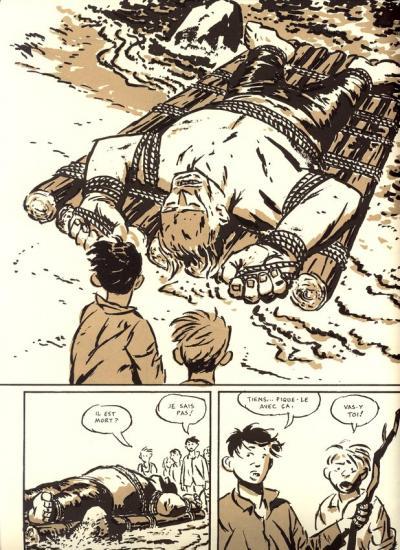 le radeau de Hulk