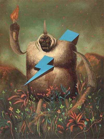 le singe de la Liberté