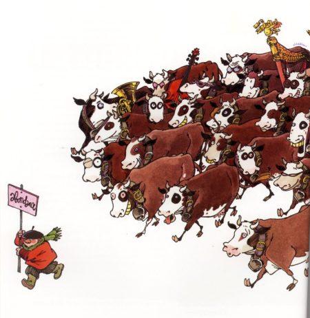 manif bovine