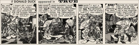 Wallace Wood - Donald in True Magazine