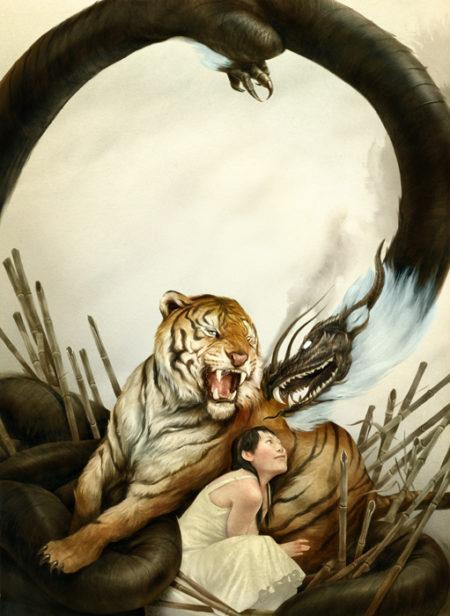 dragon tigré