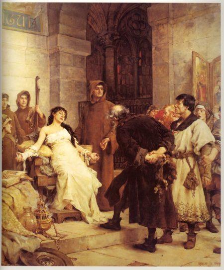 La stigmatisée par Georges Moreau de Tours