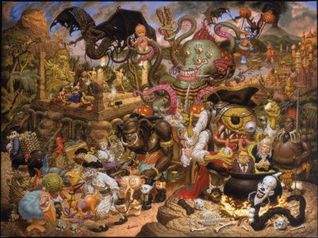 A Pirate's Treasure Dream – peinture finale