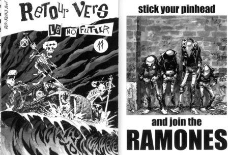 tête de Ramones