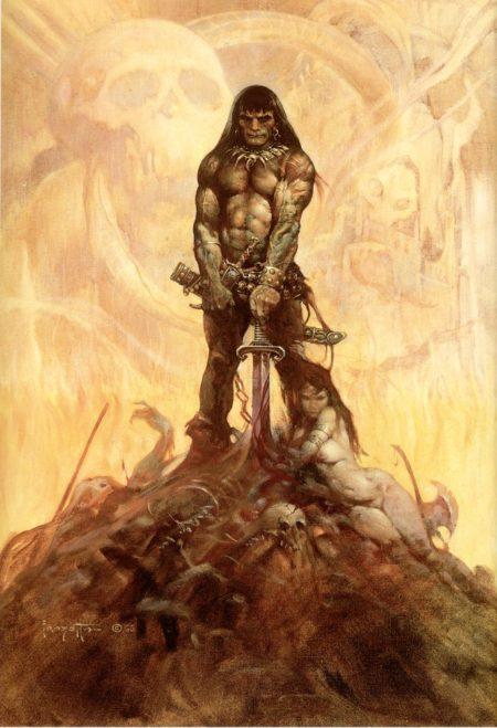 Conan par Frazetta