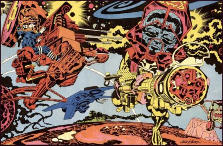 peinture abstraite - Jack Kirby
