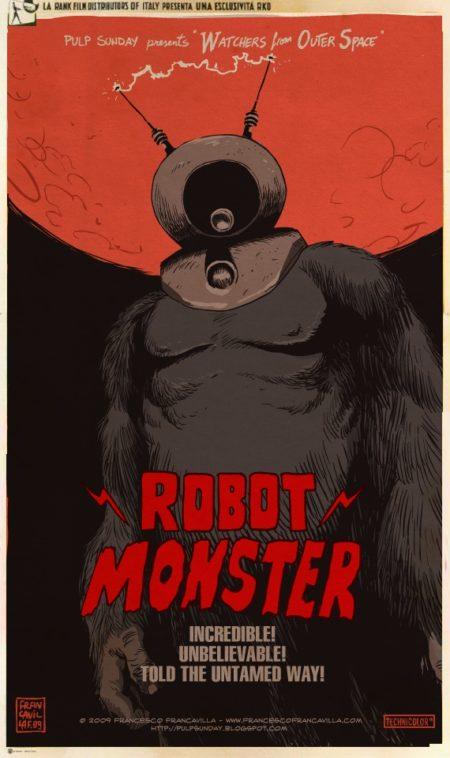 ou robot gorilla?