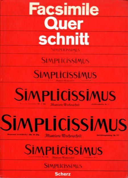 simplicissimus-facsimile-quer-schnitt