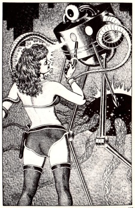 Petite culotte de l'espace - Virgil Finlay