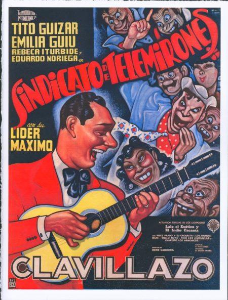l'homme à la guitare jaune