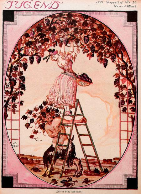 Julius Diez (1870-1957), »Jugend» cover, #26, 1921