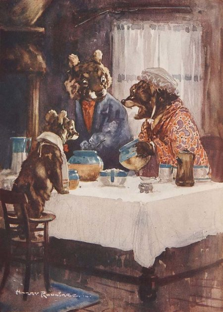 1914 Goldilocks and the Three Bears