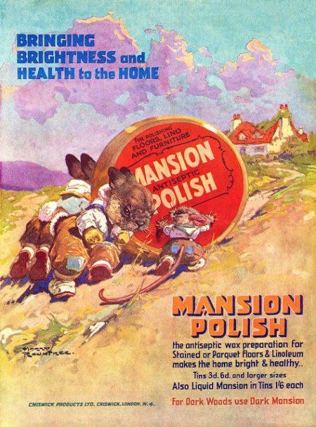 1935 Mansion Polish advertisement