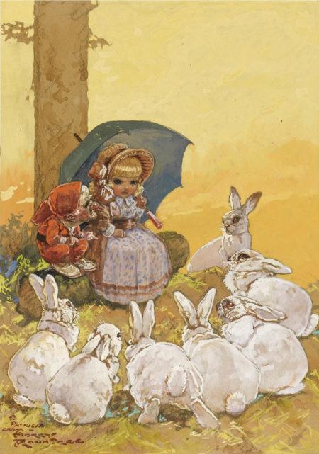 n.d. Storytime pencil, watercolour and gouache 33.2 x 23.5 cm