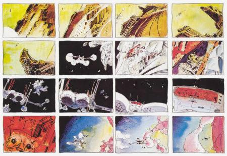 update(28-12-2014).zip-Storyboard pour le film Dune, milieu des années 1970