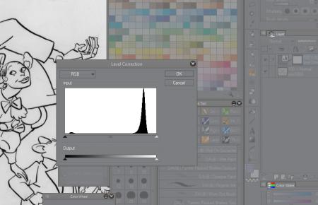 clip-studio-paint-dessin-trait-level-affiche