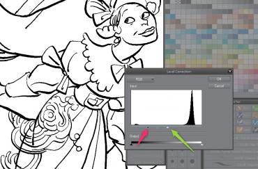 clip-studio-paint-dessin-trait-level-regle