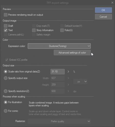 tuto scanner export image