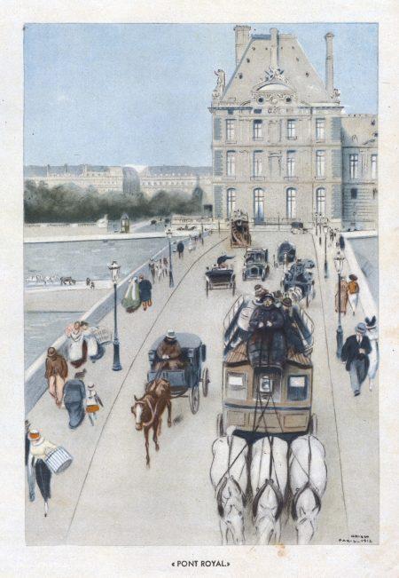 03 Pont Royal – París 1912-opisso
