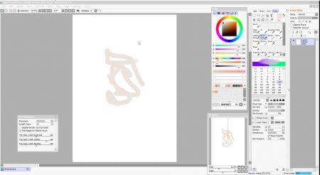 painttool sai2 interface