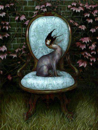 la chose sur la chaise
