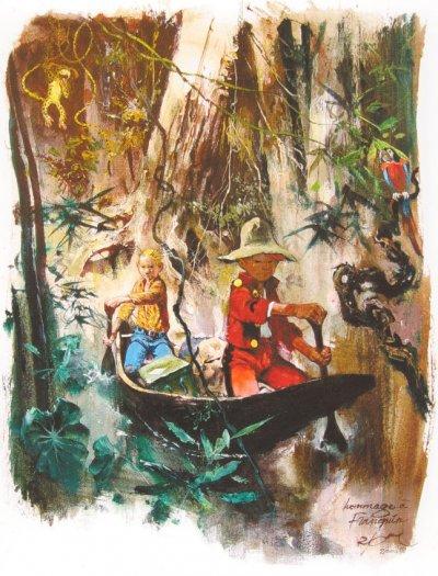 un groom dans la jungle